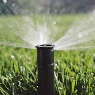 Wide Spread Sprinkler